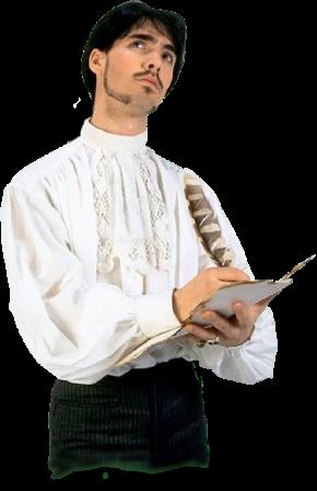 18th-century-man-writing