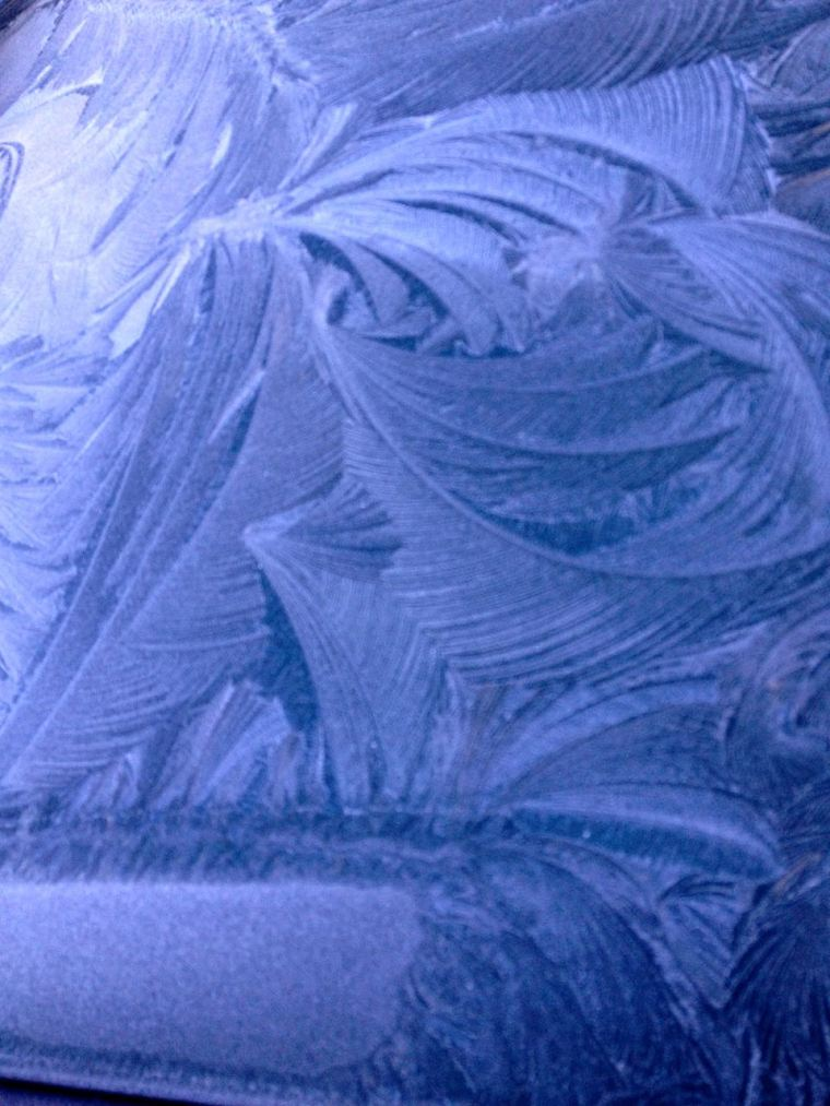 Frost on Car 2